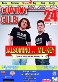 24/08 Судак, Cowboy - Jalsomino and ML.-Key